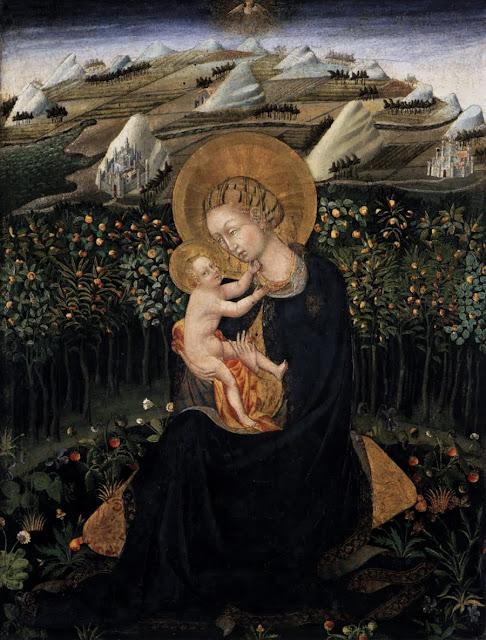 Giovanni di Paolo - Madonna of Humility