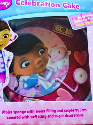 Doctober Doc Mcstuffins Twitter Party Box #doctober cake