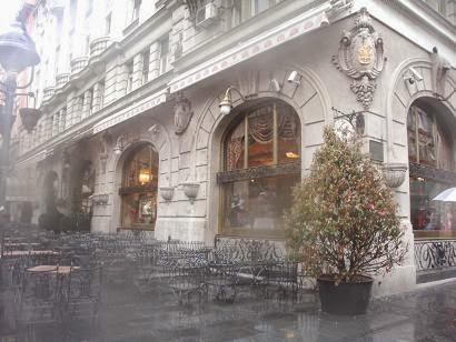 Белград, кафе