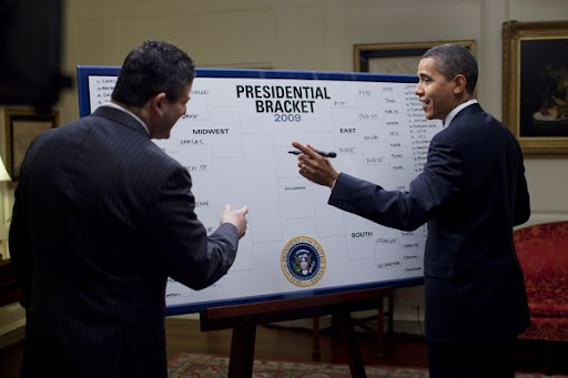barack obama bracket. As the NCAA college basketball