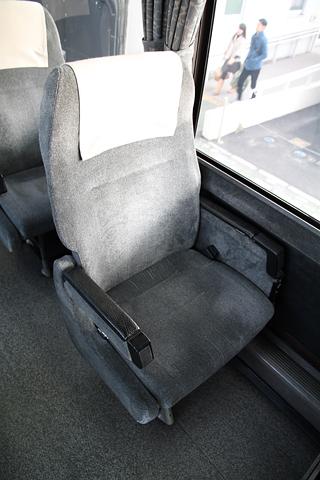 いわさきバスネットワーク「桜島号」 ・120 シート