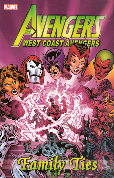 West Coast Avengers: Family Ties cover