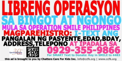 mum for a cause, Operation Smile Philippines, announcement, winners