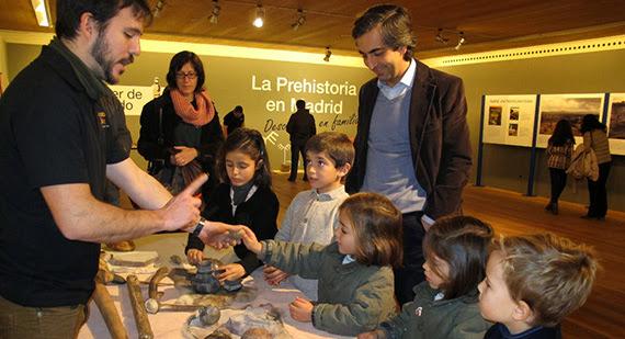 Descubre la Prehistoria de Madrid en familia