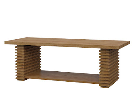 Alvarez Coffee Table in Classical Maple