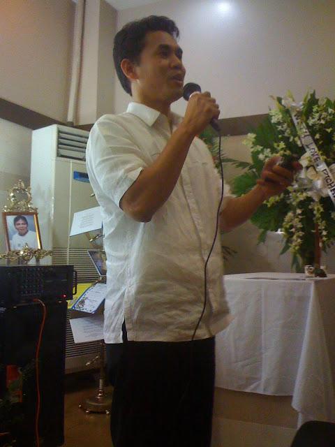 Oliver John Cabasan of CCF Love Joy Peace Missions Laminin