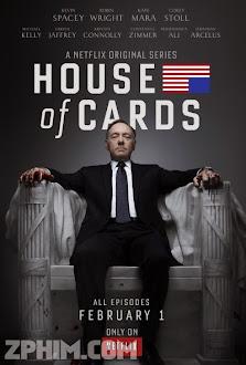 Sóng Gió Chính Trường 1 - House of Cards Season 1 (2013) Poster