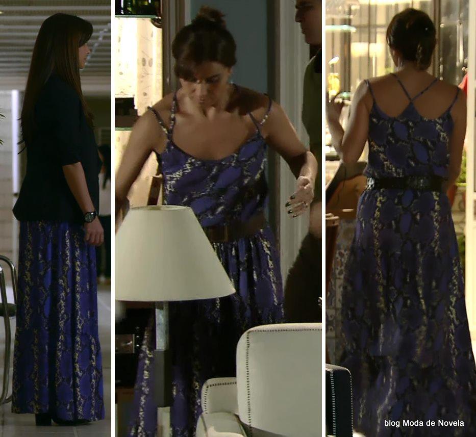 moda da novela Em Família - look da Clara dia 2 de maio