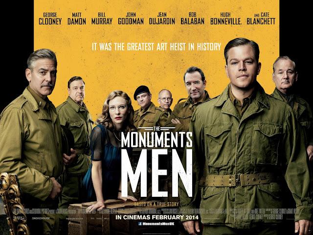 Μνημείων Άνδρες The Monuments Men Wallpaper
