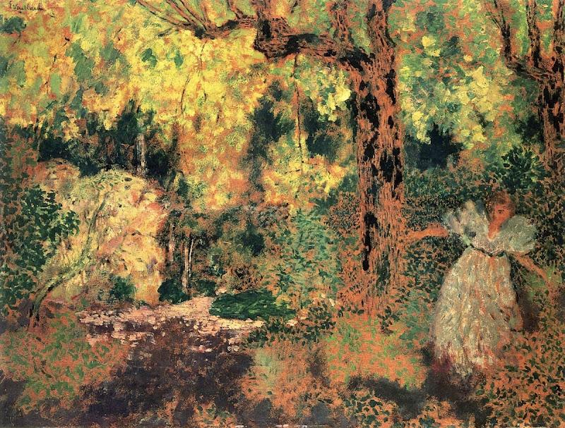 Édouard Vuillard - Misia in the Wood
