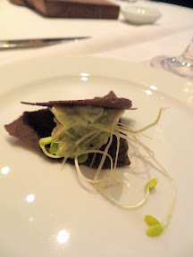 Castagna Snax: Buckwheat with avocado and sprouts from Castagna Restaurant