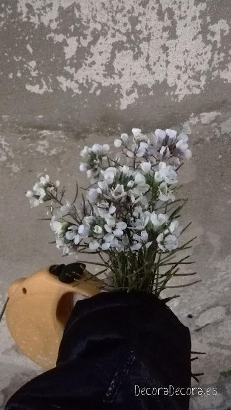 Desayunar con flores
