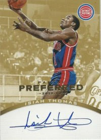 12/13 Preferred Gold Thomas Auto