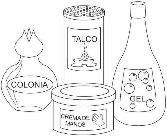 Imagenes De Articulos De La Higiene Personal Para Pintar