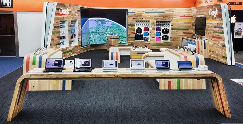 Google Shop-in-Shop