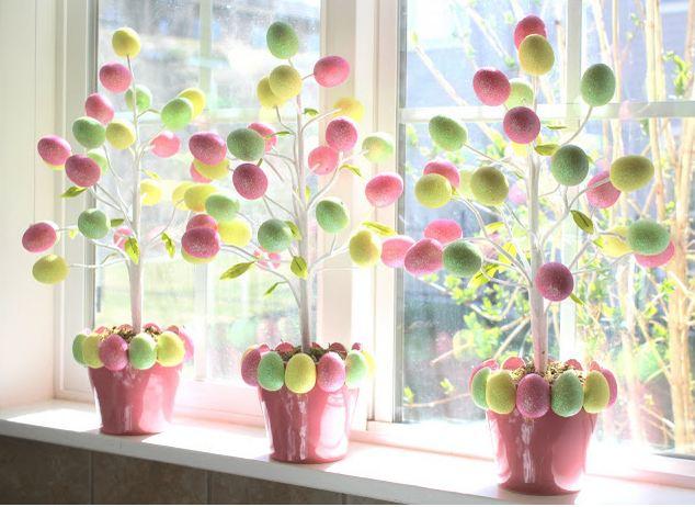Decoración de Pascua.