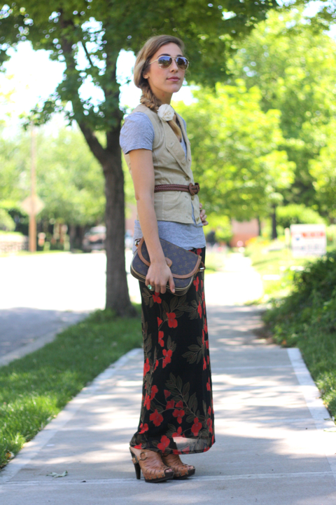 outfit post: switchable skirt
