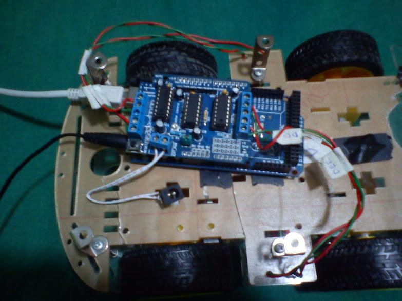 Img on Mega Motor Shield Arduino