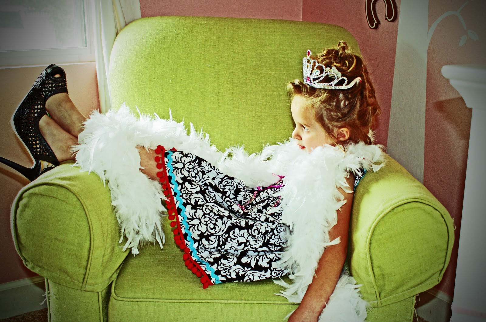 Diy fancy nancy dress icandy handmade diy fancy nancy dress solutioingenieria Images