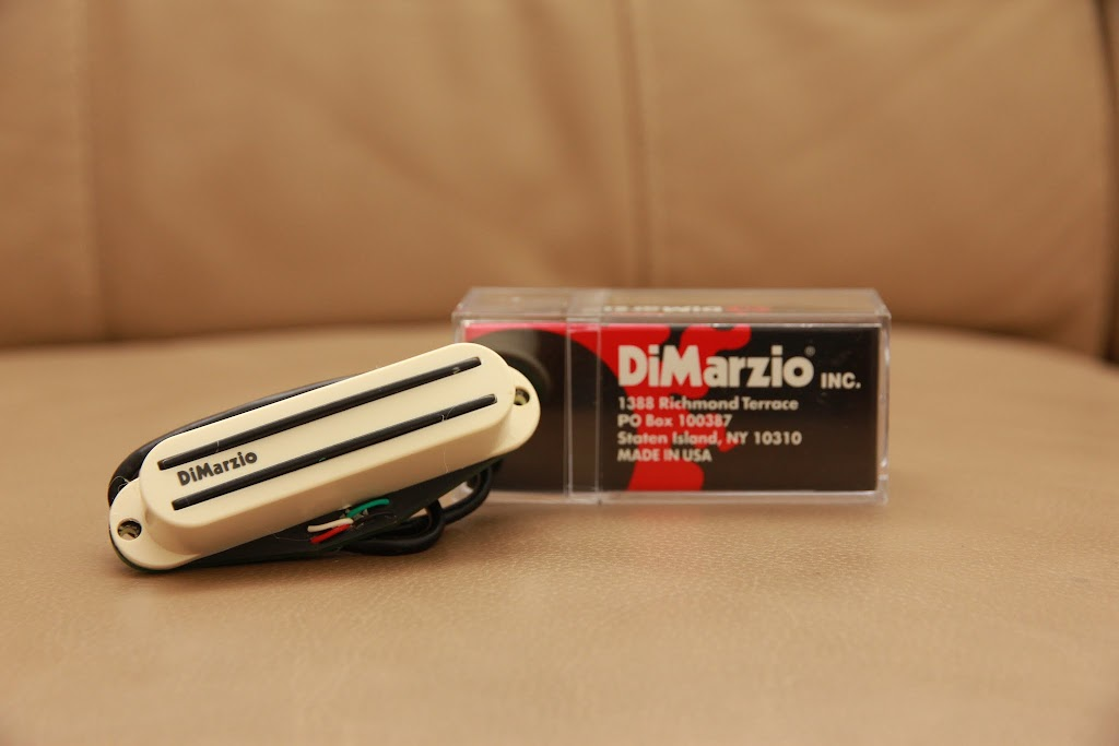 DeadEye Guitars: DiMarzio Fast Track 2 DP182 Aged White