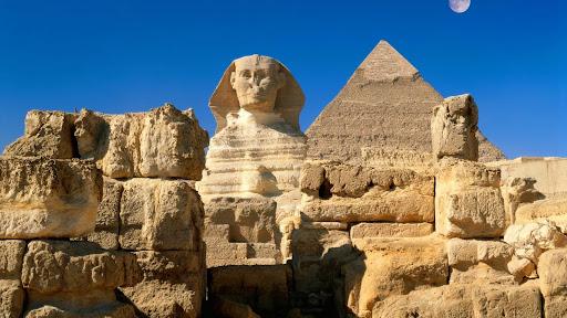 Great Sphinx, Chephren Pyramid, Giza, Egypt.jpg