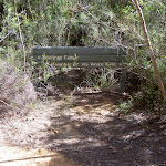 Winifred Falls sign (35378)