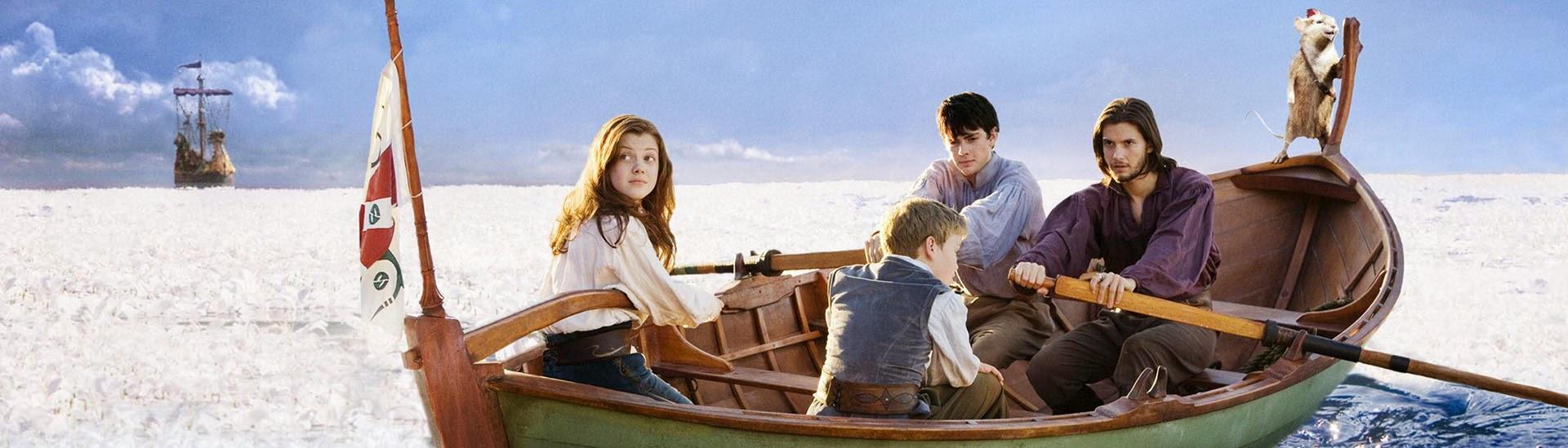 Baner filmu 'Opowieści Z Narnii: Podróż Wędrowca Do Świtu'