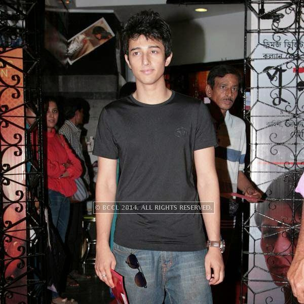 Ariyan during the premiere of Ai Raat Tomar Amar, held in Kolkata.