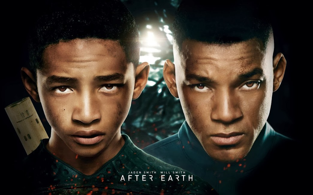 After Earth moive poster