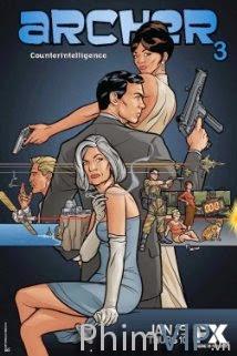 Cung Thủ - Archer Season 5 poster
