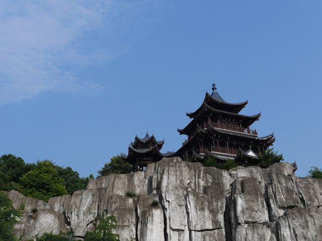 Huiyan Pavilion (回雁阁) on Huiyan Peak (回雁峰)