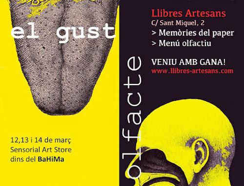 Llibres Artesans participa al Sensorial Art Store