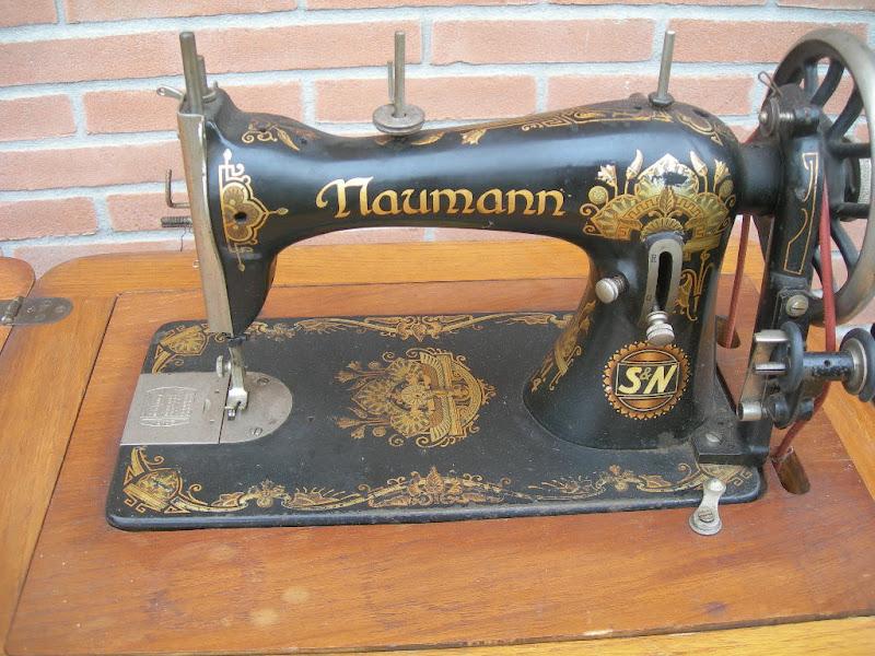 Antica macchina cucire naumann a pedale ebay for Macchina cucire pedale
