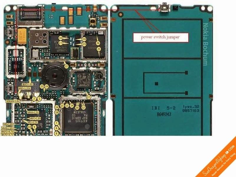 Link 1: Click To Enlarge Link 2: Bấm Để Xem Link 3: View Full Size Câu Công  Tắc Nguồn Nokia 6300 - Nokia 6300 Power Key Solution