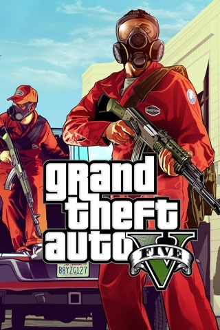 Grand theft auto v iphone wallpapers happy iphone grand theft auto v iphone wallpapers voltagebd Image collections