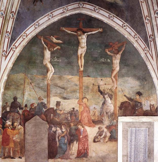 Masolino da Panicale - Crucifixion
