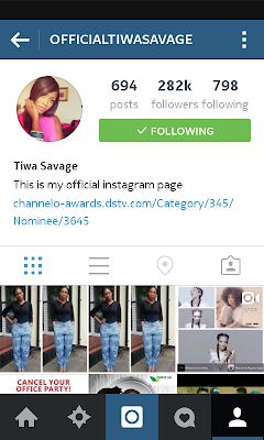 Tiwa falls victim of instagram raid