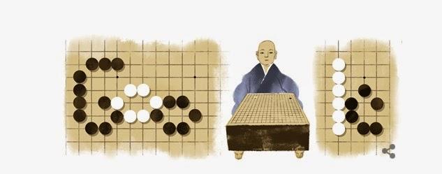 Honinbo Shusaku japan google doodle