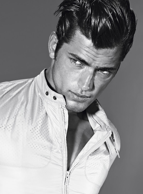 Sean O'Pry @ VNY for Hugo by  Hugo Boss S/S 2012.  Photography by Alexei Hay.