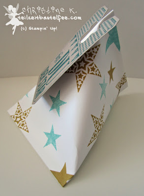 stampin up, simply stars, day of celebration, heute ist dein tag, sour cream container