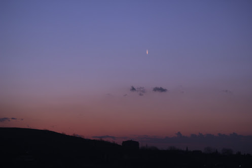 Comet PANSTARRS from Turkey