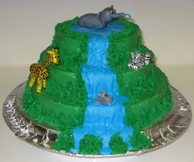 Jungle Animal Cake 1