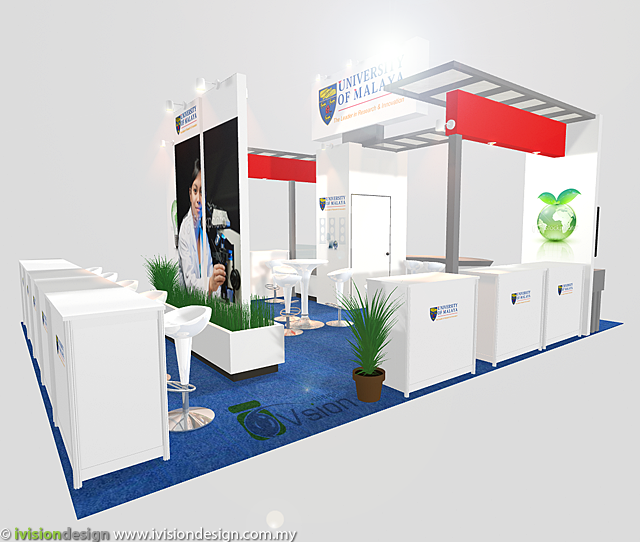 Exhibition Booth Design - MTE 2011