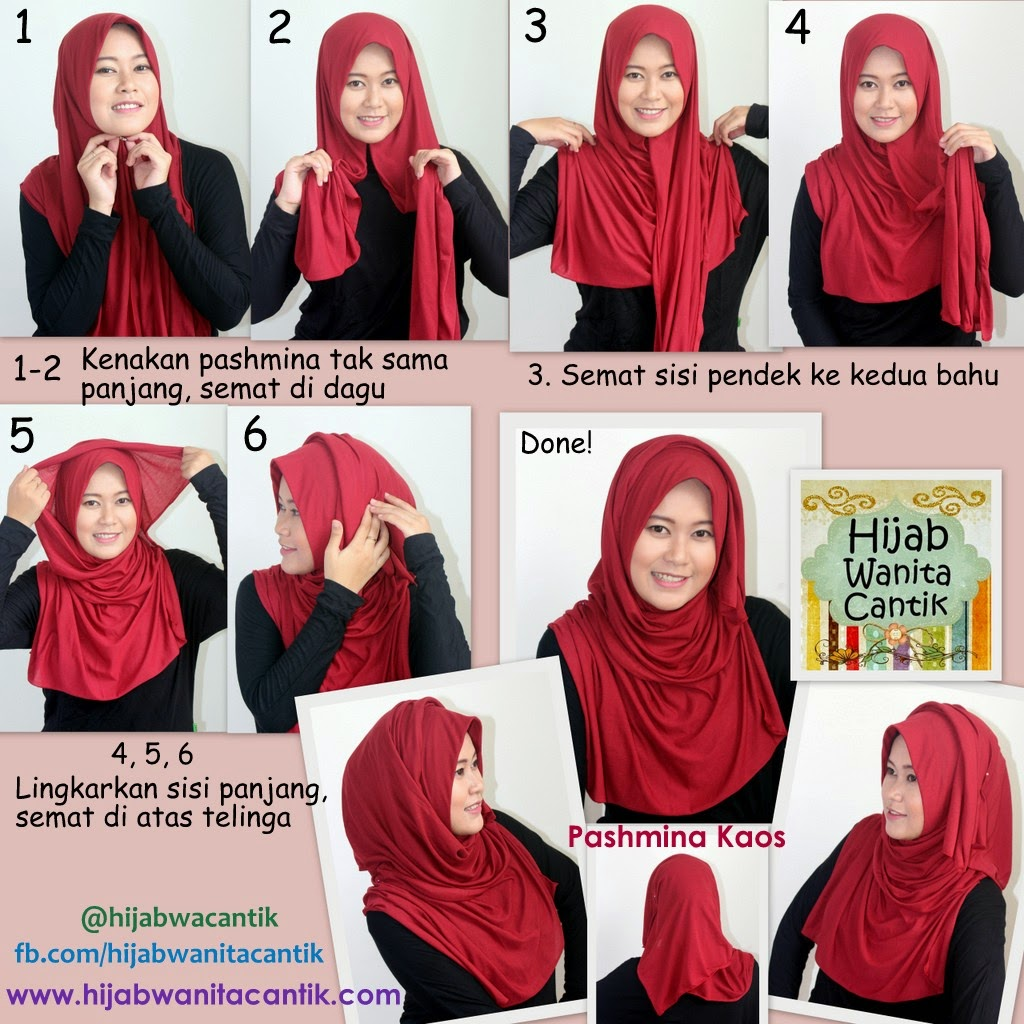 Hijab Tutorial Pashmina Chiffon Cerutti