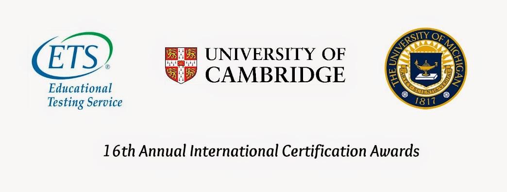 16TH ANNUAL INTERNATIONAL CERTIFICATION AWARDS