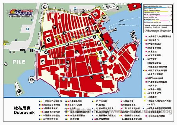 哪裡找克羅埃西亞地圖?印象100,愛在克羅埃西亞旅遊書都幫你準備好了啦!