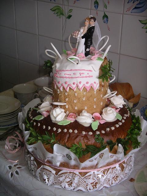 Український весільний коровай (не торт!)