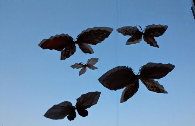 전단지 나비 만들기