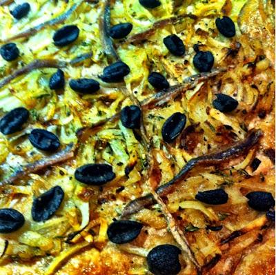 52 Cookbooks #26: French onion tart