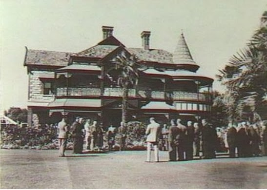 Attunga, c1944. Official opening as a hospital